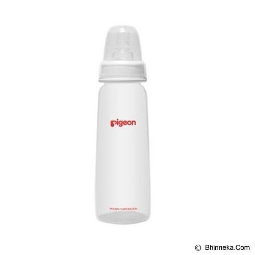 PIGEON Botol PP KP 240ml With S-Type Silicone Nipple [PR010302] - White - Botol Susu